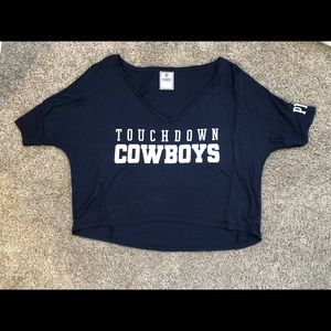 Victoria's Secret PINK Dallas Cowboys Crop Top